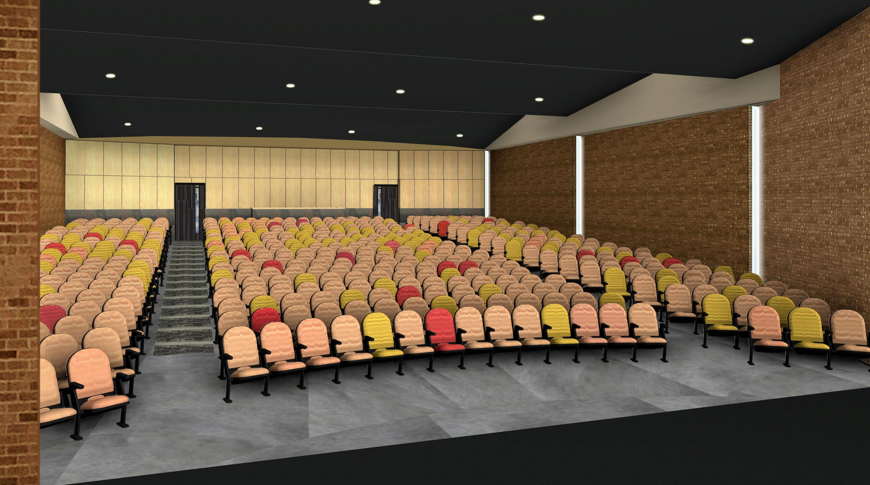 Photo of an auditorium